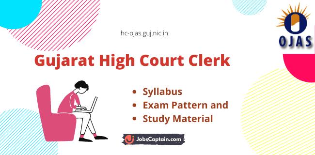 Gujarat High Court Clerk Syllabus Material