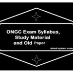 ONGC Exam Syllabus Materials & old Papers 2019