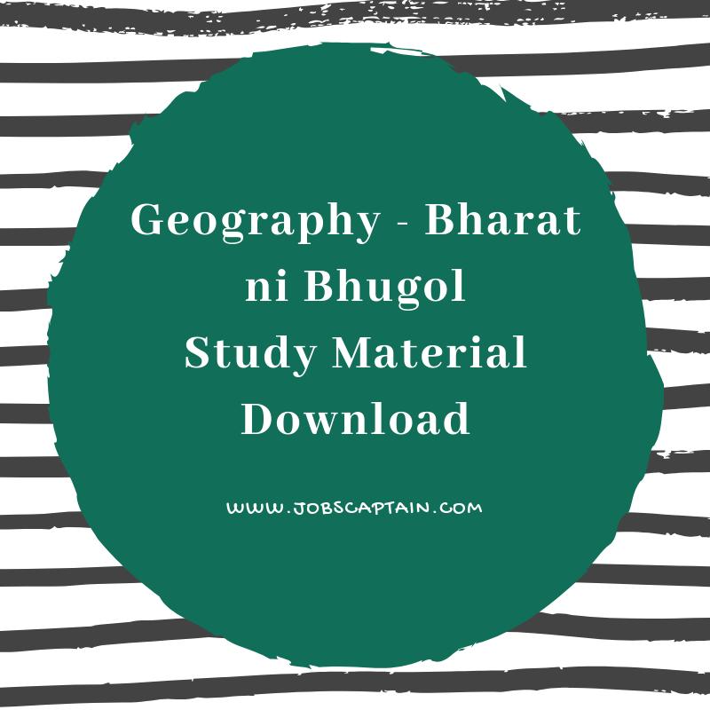 bharat ni bhugol pdf in gujarati