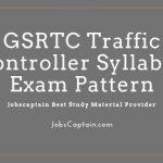 GSRTC Traffic Controller Syllabus Exam Pattern