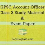 GPSC Account Officer Class 2 Study Material and Exam Paper