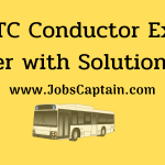 GSRTC Conductor Exam Paper with Solution