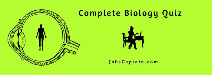 Biology Quiz question