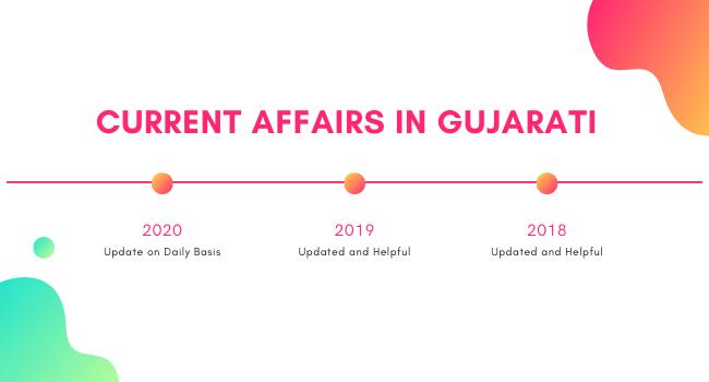 Current Affairs 2020 in Gujarati