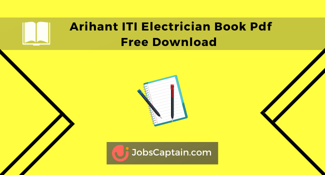 Arihant ITI Electrician Book Pdf Free Download