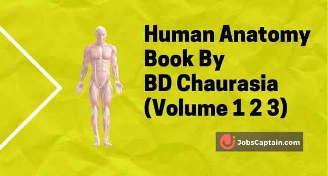 BD Chaurasia Pdf Human Anatomy Book Free Download