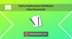 Disha Publication Pdf Books