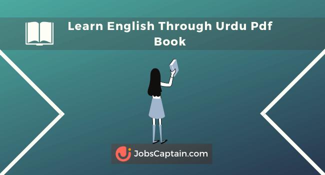 Learn English Through Urdu Pdf Book