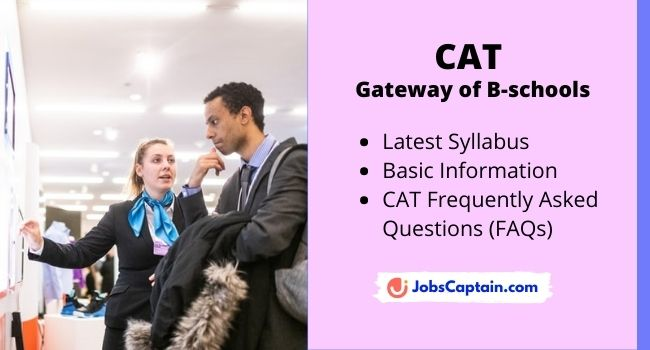 CAT Syllabus in Detail With Important information and FAQs