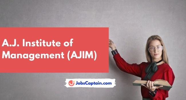 A.J. Institute of Management (AJIM)