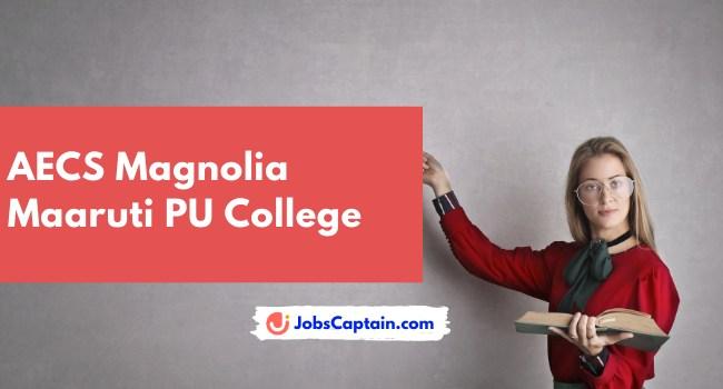 AECS Magnolia Maaruti PU College