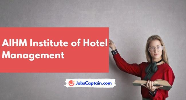 AIHM Institute of Hotel Management