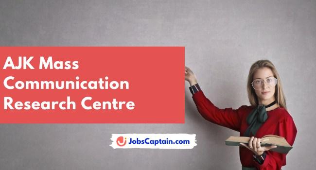 AJK Mass Communication Research Centre