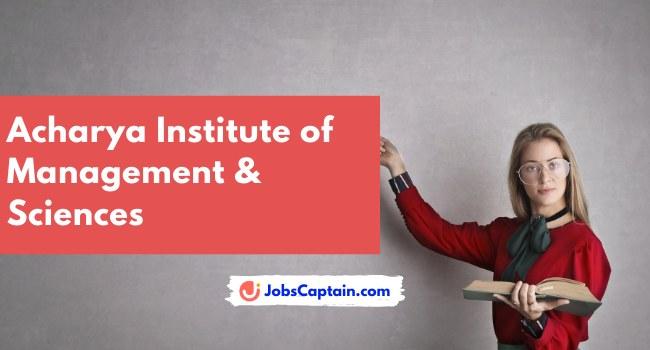 Acharya Institute of Management & Sciences