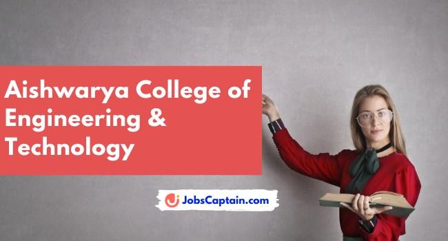 Aishwarya College of Engineering & Technology