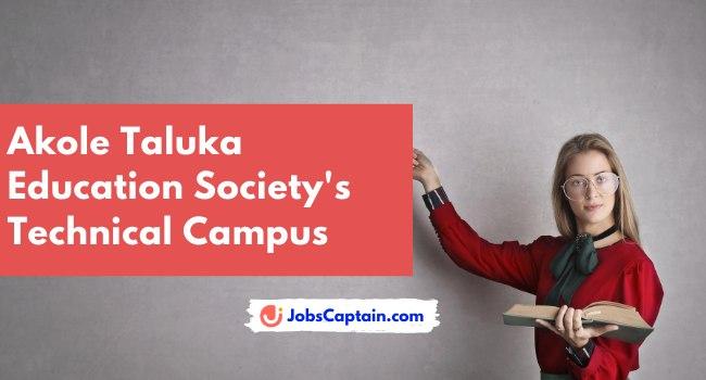 Akole Taluka Education Society's Technical Campus
