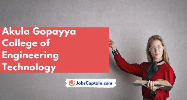 Akula Gopayya College of Engineering Technology