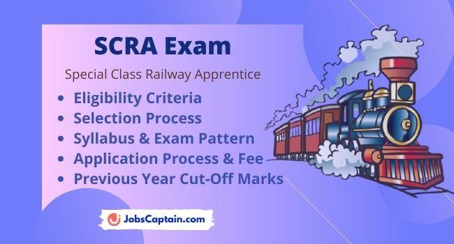 SCRA Exam - Eligibility, Exam Pattern & Syllabus, Selection Process