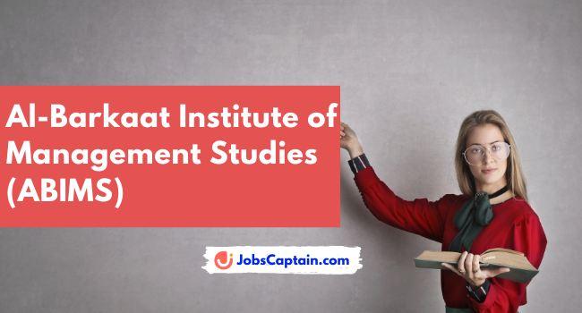 Al-Barkaat Institute of Management Studies (ABIMS)