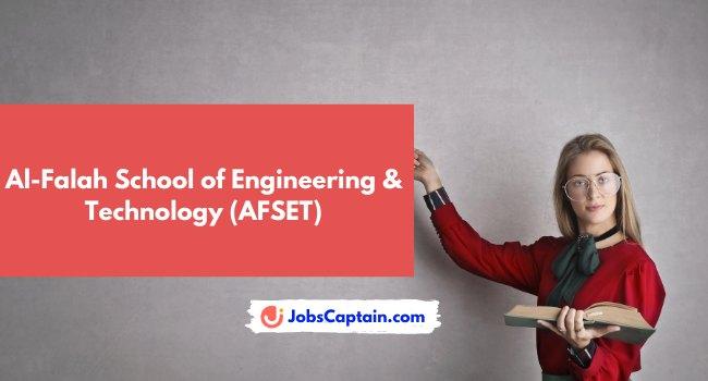 Al-Falah School of Engineering & Technology (AFSET)