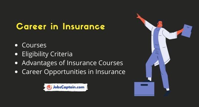 Career in Insurance