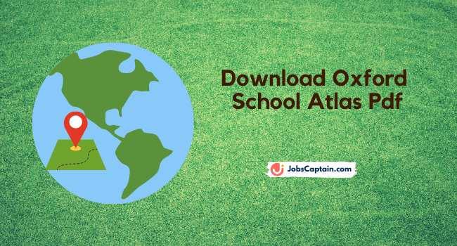 Download Oxford School Atlas Pdf