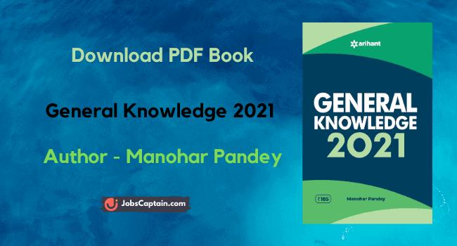 Manohar Pandey GK 2021 Pdf Download
