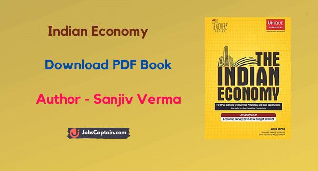 Sanjiv Verma Indian Economy Pdf Download