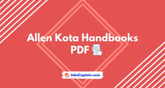 Allen Kota Handbook of Physics, Chemistry and Maths pdf