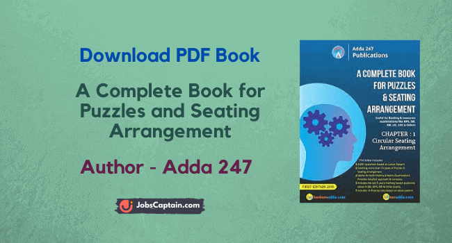 Download A Complete Book for Puzzles and Seating Arrangement Pdf
