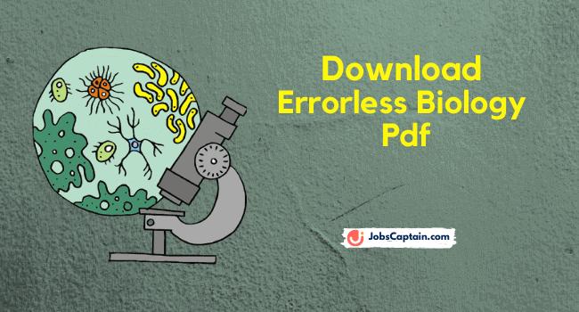 Download Errorless Biology Pdf