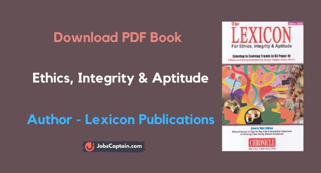 Lexicon Ethics Book Pdf Download