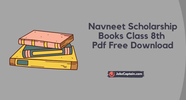Navneet Scholarship Books Class 8th Pdf Free Download