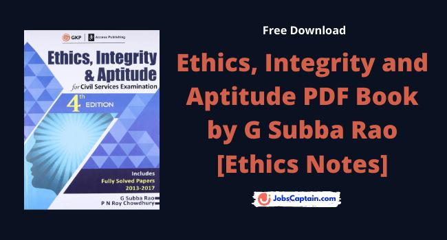 Subba Rao Ethics PDF