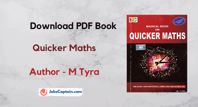 Magical Book on Quicker Maths Pdf Book